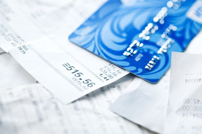 Credit card bill payments.