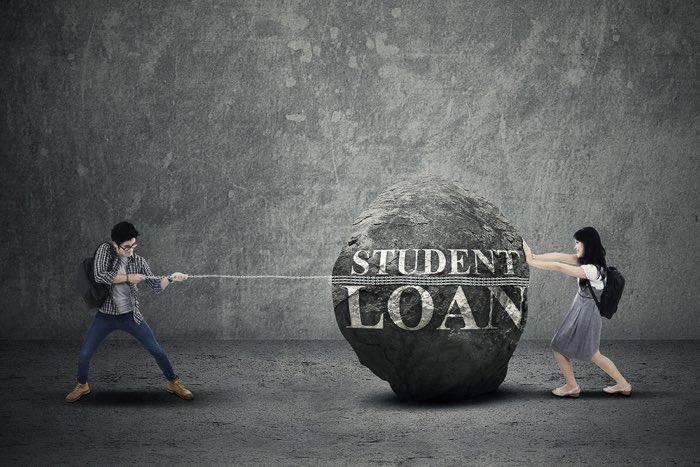 Crushing student loan debt.