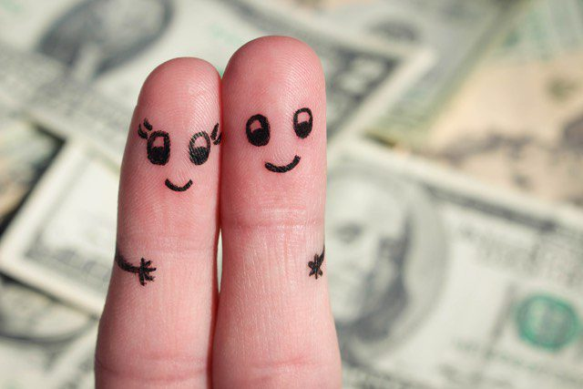Managing family finances.