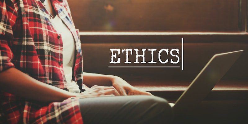 Discussion about the ethics of debt settlement.
